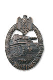German breastplate (badge) for tank attack Royalty Free Stock Photo