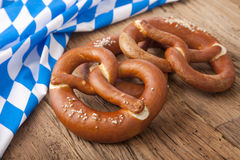 German bretzels Stock Photo