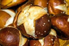 German bun with lye Stock Photography