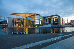 German Bundestag auxiliary buildings Stock Image