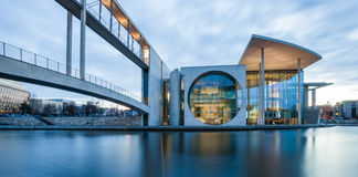 German Bundestag auxiliary buildings Royalty Free Stock Image