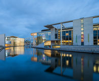 German Bundestag auxiliary buildings Stock Photography