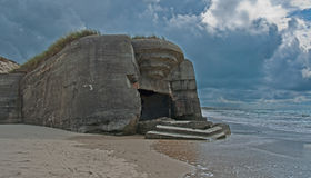 German bunker royalty free stock images