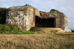 German bunker in Normandy Stock Images