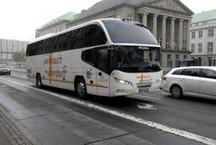 GERMAN BUS TOURISTS Royalty Free Stock Image