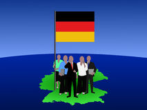 German business team Royalty Free Stock Photography