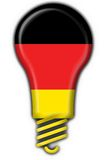 German button flag lamp shape Stock Photography