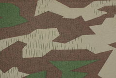 German camouflage world war two Royalty Free Stock Photo