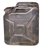 The German canister  since the 2nd World War Royalty Free Stock Photos