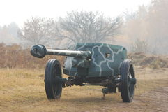 German cannon Royalty Free Stock Photos