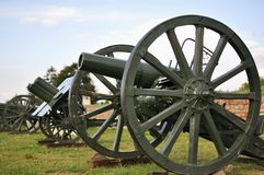 German cannon from a first world war Royalty Free Stock Photography
