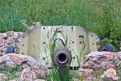 German cannon.Sevastopol,Crimea Stock Image