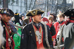 German carnival Fastnacht Royalty Free Stock Photos
