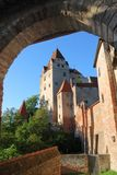 German castle Stock Photography