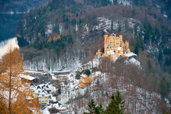 German Castle. A Bavarian castle in Germany royalty free stock photo