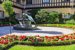 German Castle Cecilienhof in Potsdam, Germany Royalty Free Stock Image