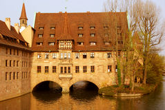 German Castle - Nurnberg. Traditional German Castle - Nurnberg, 2007, Germany Royalty Free Stock Photos