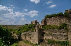 German castle ruin called Rheinfels Stock Photography