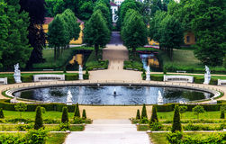 German castle Sanssouci, Potsdam, near Berlin Royalty Free Stock Photography