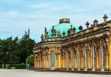 German castle Sanssouci, Potsdam, near Berlin Royalty Free Stock Photos