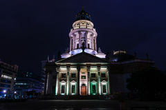German Cathedral on Gendarmenmarkt. Royalty Free Stock Photo