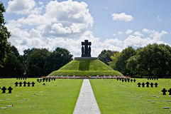 German cemetery Stock Photography