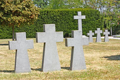 German cemetery Stock Photo