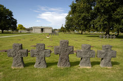 Free German Cemetery In Normandy Royalty Free Stock Photo - 15706435