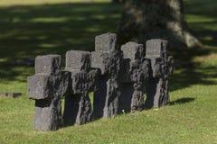 German cemetery, La Cambe Royalty Free Stock Image
