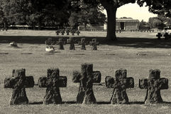 German cemetery, La Cambe Stock Images