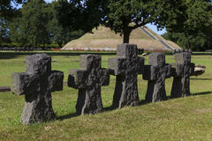 German cemetery, La Cambe Stock Photography