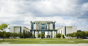 German chancellery in Berlin Royalty Free Stock Photography