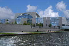 German Chancellery building Royalty Free Stock Photo