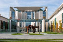 German Chancellery building Berlin Stock Images