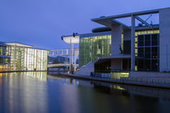 German Chancellery (Bundeskanzleramt) in Berlin Stock Image
