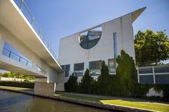 German Chancellery (Bundeskanzleramt) Building near Reichstag Royalty Free Stock Images