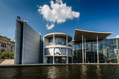 German Chancellery (Bundeskanzleramt) Building near Reichstag Royalty Free Stock Photography