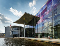 German Chancellery (Bundeskanzleramt) Building near Reichstag Royalty Free Stock Images
