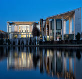 The German Chancellery - Stock Image Royalty Free Stock Image