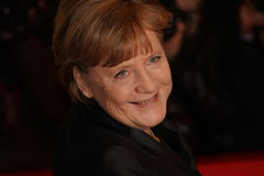 German Chancellor Angela Merkel Royalty Free Stock Photography