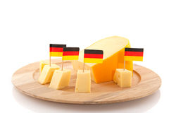 German cheese Stock Image