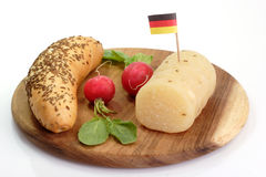 German Cheese Royalty Free Stock Photos