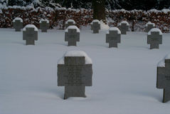 GERMAN CHILDREN�S COLLECTIVE GRAVES Stock Image