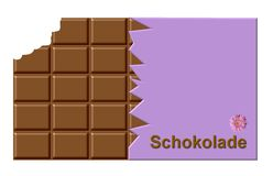 German chocolate Royalty Free Stock Images