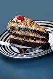 German chocolate cake Royalty Free Stock Photos