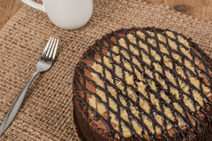 German Chocolate Cake Royalty Free Stock Photo