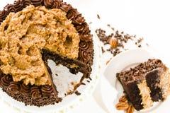 German chocolate cake Stock Images
