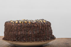 German Chocolate Cake Stock Photography