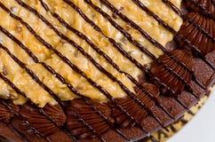 German Chocolate Fudge Cake Royalty Free Stock Images