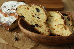 German Christmas bread Royalty Free Stock Images
